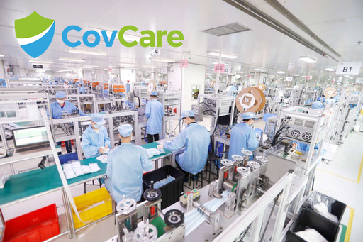CovCare 3-Ply Medical Face Mask Production Line